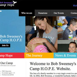 Bob Sweeny Camp Hope