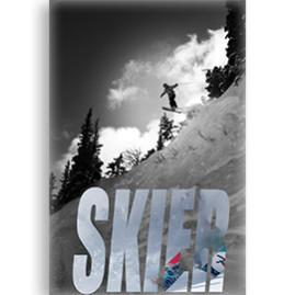 Skier Poster