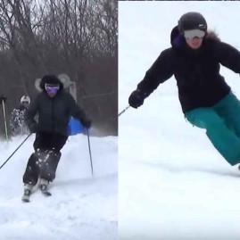 Skiing Nastar – Moguls – Great Turns